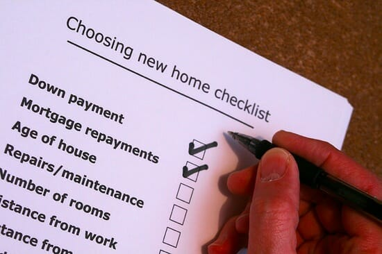 Moving checklist title