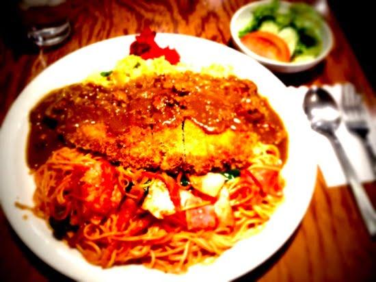 「HANAMARU厨房」長崎人も認めるおいしいデカ盛りトルコライスを、福岡・春吉で