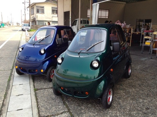 One person electric car 1