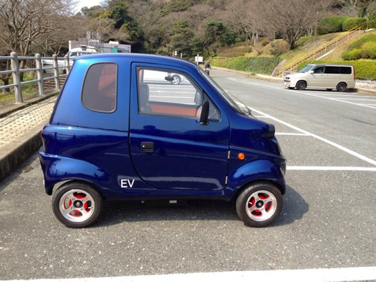 One person electric car 10