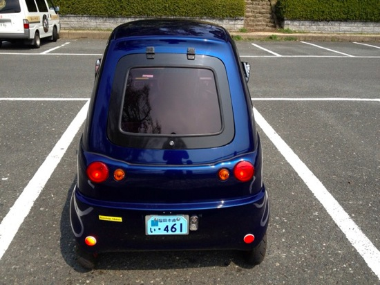 One person electric car 11