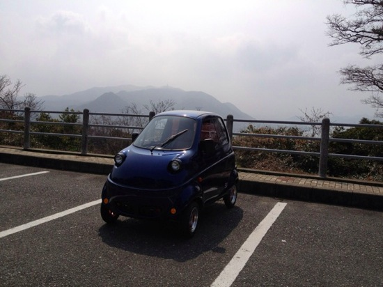 One person electric car 9