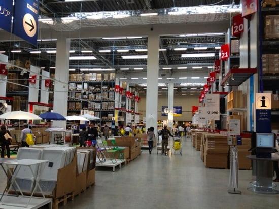 博多駅からたった25分!福岡新宮IKEAに行ってきた!〜マーケットホール、ビストロ編〜