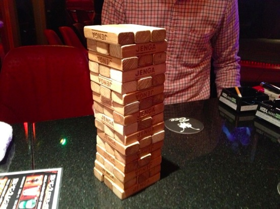Analog game jenga 1