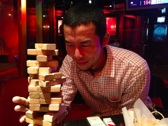 Analog game jenga 3