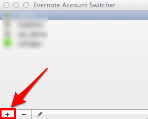 Evernote account switcher 3