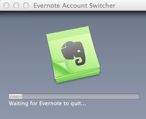 Evernote account switcher 7