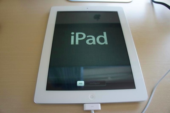 New ipad activation and move data 7