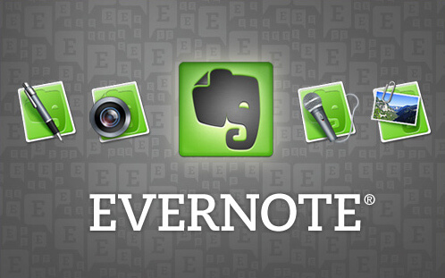 Evernote lectures for beginners 1 title