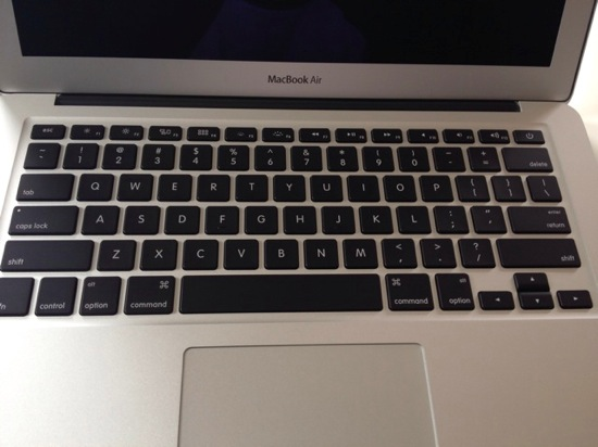 Macbook air 13inch arrive 13
