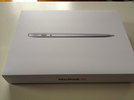 Macbook air 13inch arrive 4