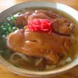 [グルメ]ダシの効いたそばと、とろっとろのテビチが美味い!「南部そば」in 沖縄・糸満