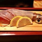 福岡・今泉「博多表邸」雰囲気の良い個室で、いかの活き造りや塩もつ鍋を!