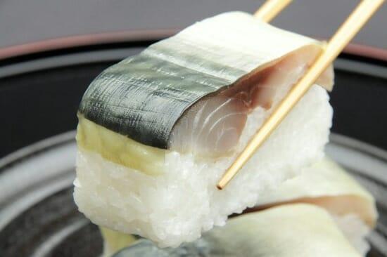 仙台「華ずし」の鯖寿司