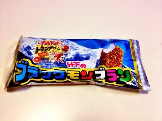 九州定番のアイス「ブラックモンブラン」