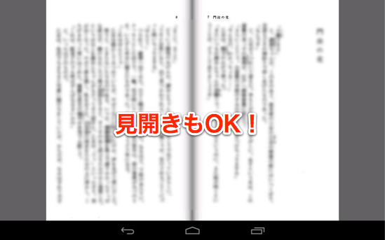 Android nexus7 perfect viewer 14