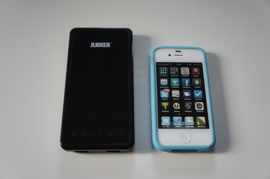 Iphone battery anker astro3e 12