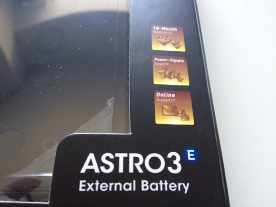 Iphone battery anker astro3e 3