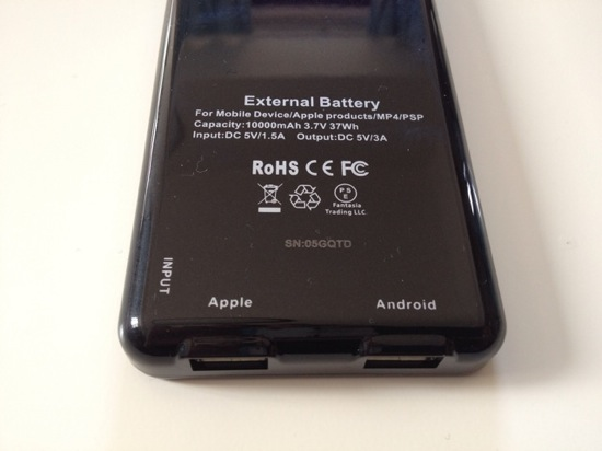 Iphone battery anker astro3e 9