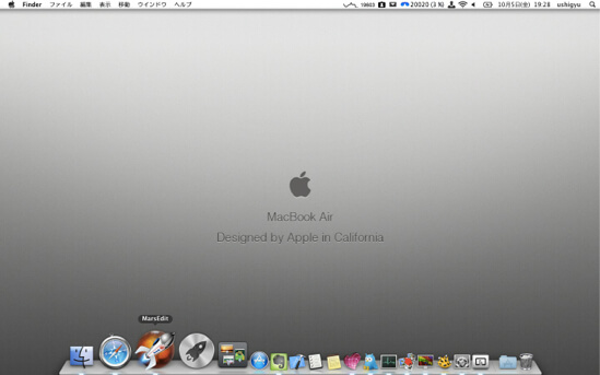 Why i put mac dock under screen title