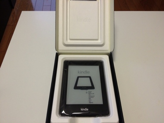 Kindle paperwhite appearance and setup 2