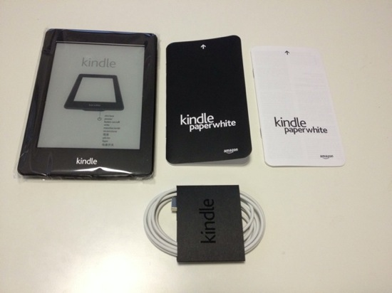 Kindle paperwhite appearance and setup 3