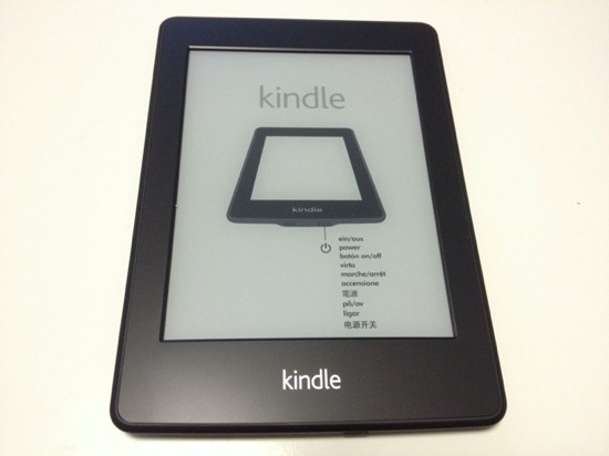 Kindle paperwhite appearance and setup 5