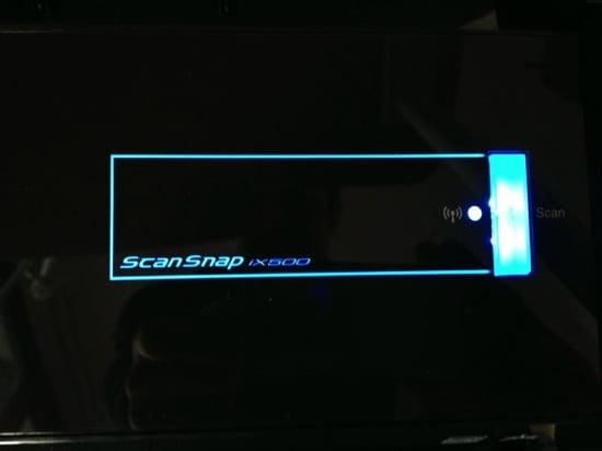 Scansnap iX500のセットアップ手順