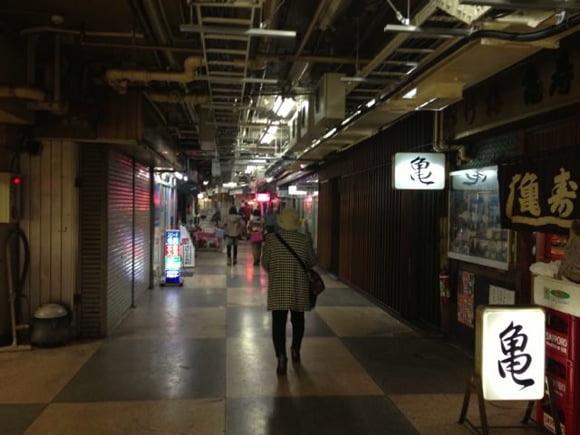 Asakusa underground area 11