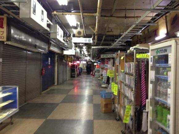 Asakusa underground area 4
