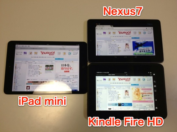 Comparison tablet pc 8