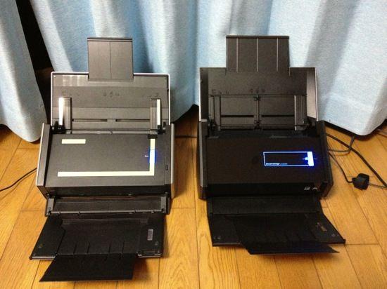 Scansnap iX500とS1500の比較