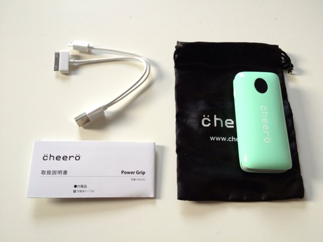 Cheero power grip 3