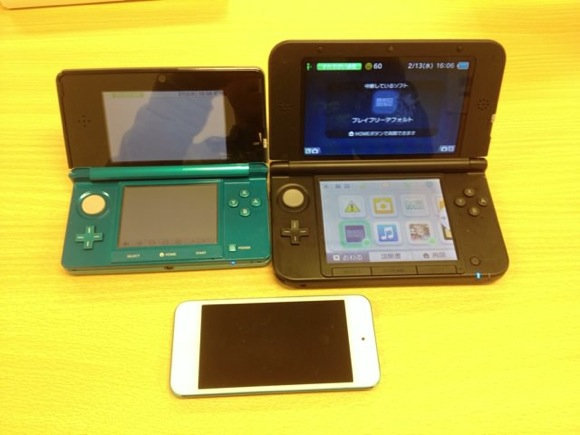 Comparison between 3ds and ll 6