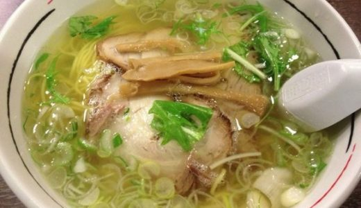 [グルメ]澄んだスープが美味しいあっさり塩ラーメン!「函館麺厨房あじさい」in 札幌らーめん共和国