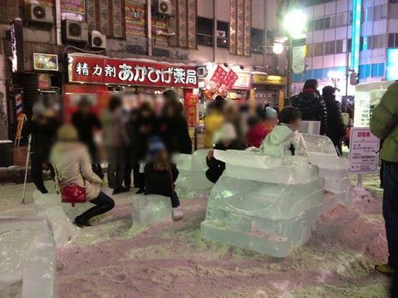 Snowfestival in sapporo susukino 12