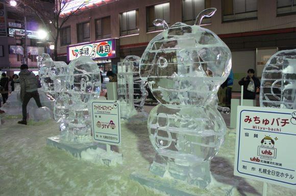 Snowfestival in sapporo susukino 13