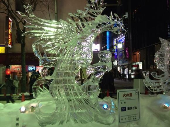 Snowfestival in sapporo susukino 18