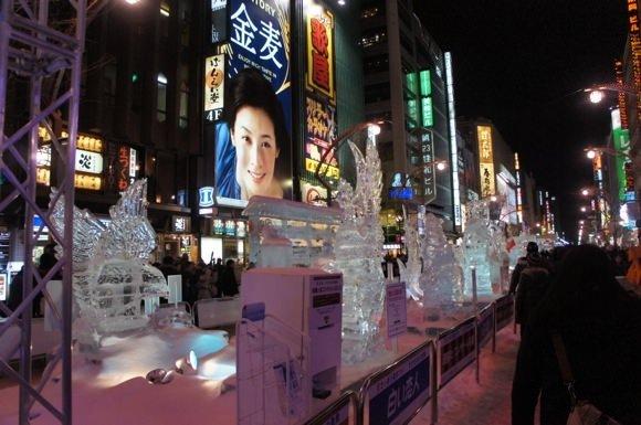 Snowfestival in sapporo susukino 2
