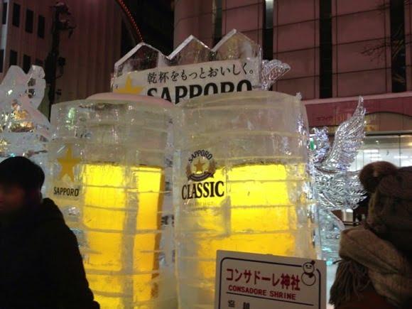 Snowfestival in sapporo susukino 21