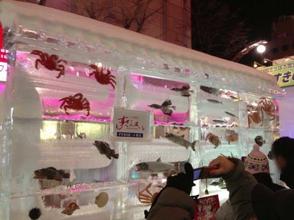 Snowfestival in sapporo susukino 22