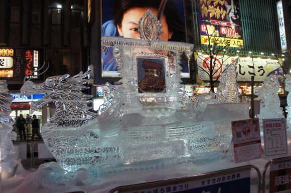 Snowfestival in sapporo susukino 3