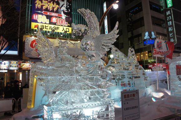 Snowfestival in sapporo susukino 5