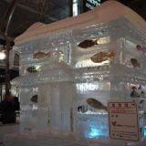 札幌の夜の街すすきので氷像の競演!さっぽろ雪まつり2013写真レポート〜すすきの会場 編〜