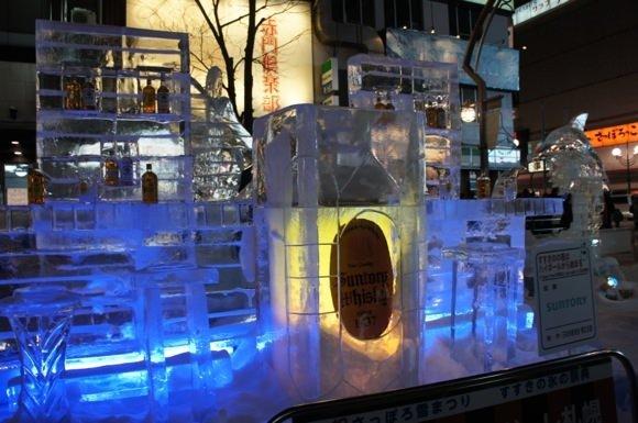 Snowfestival in sapporo susukino 8