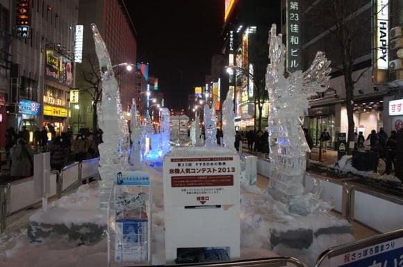 Snowfestival in sapporo susukino 9