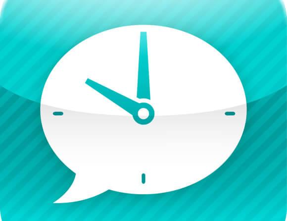 Voice clock title
