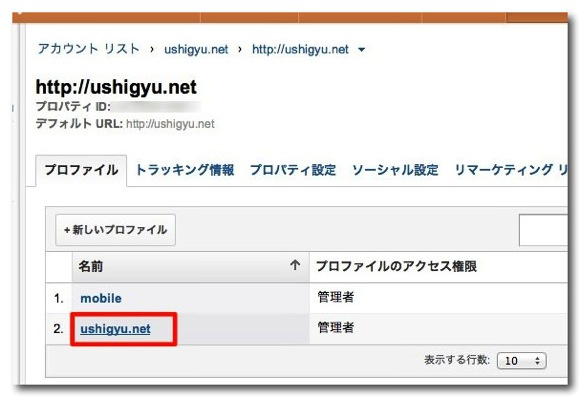 Google analytics data share 2