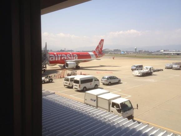Air asia fukuoka airport 12