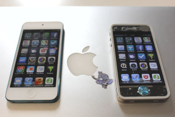 iPhoneとiPod touchの違いを比較
